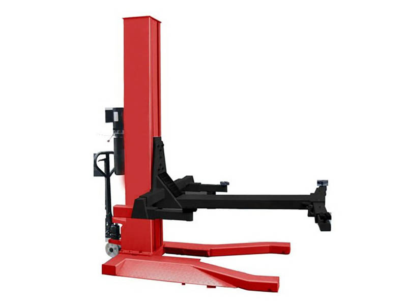 Single Post Car Lift Competitive Mobile Single Post Car Lift