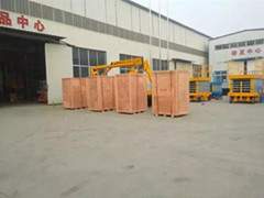 Single Mast Aluminum Lift