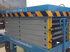 manual scissor lifts
